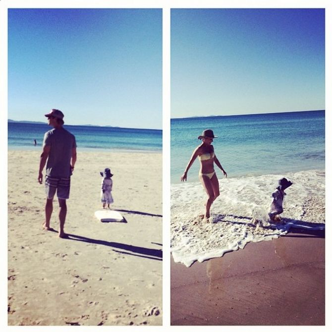 Chris Hemsworth, Elsa Pataky et leurs enfants