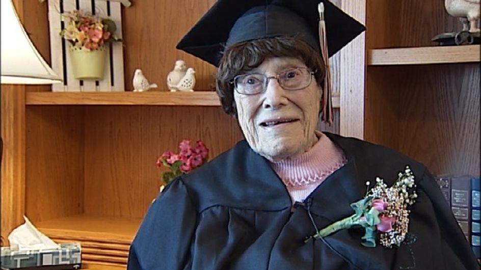 A 103 ans, elle obtient son baccalauréat
