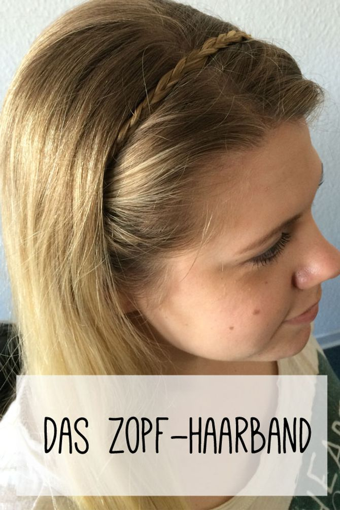 Zopf-Haarband 1