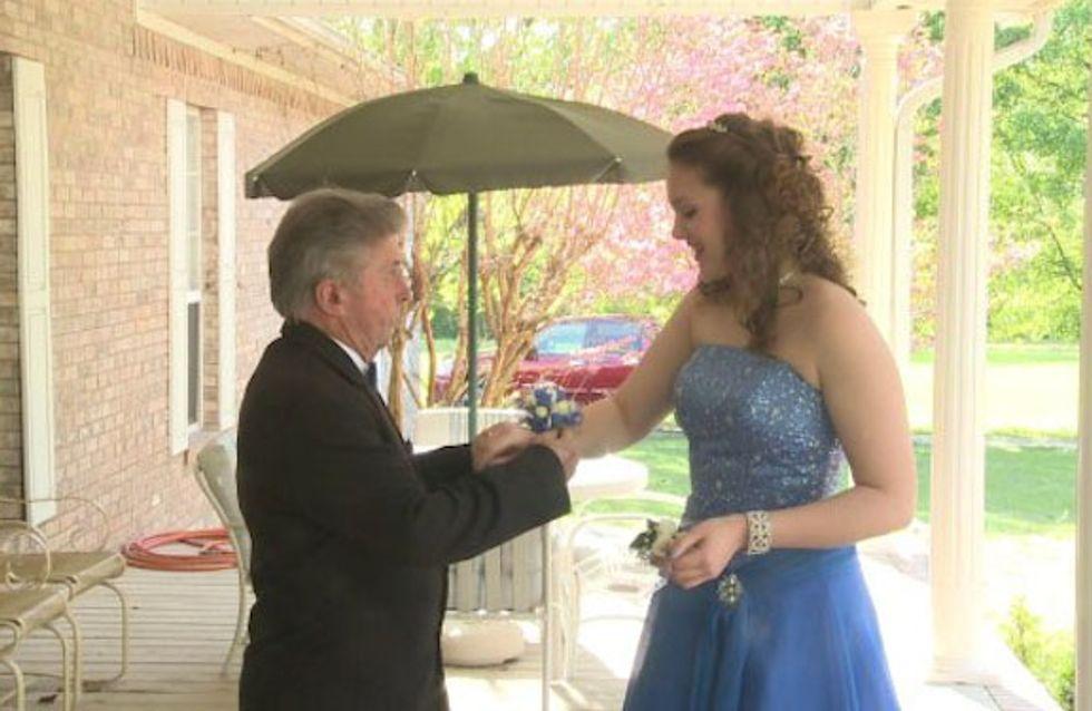 Pour son bal de promo, cette lycéenne a fait une surprise magnifique à son grand-père
