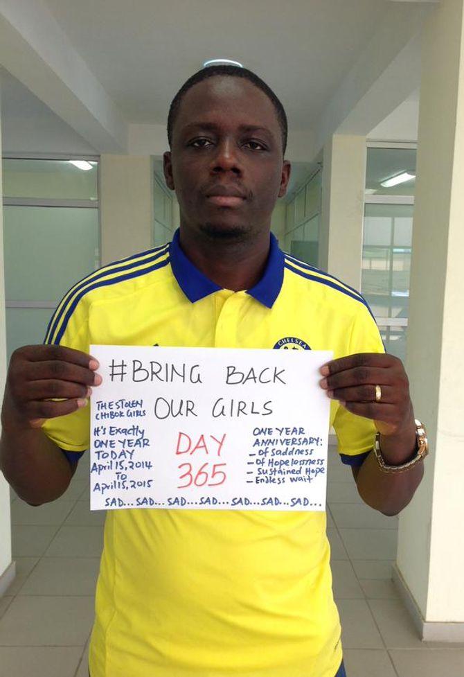 Charles Alasholuyi affiche son soutien tous les jours