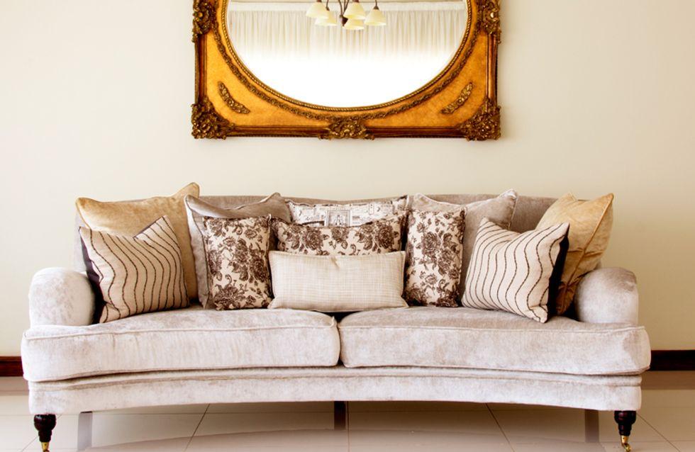 ¿Cómo sacar partido a tu salón? El sofá como pieza clave