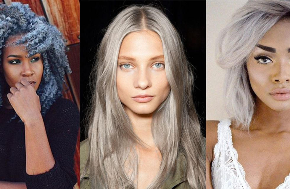50 Grey Hair Looks And An Easy Tutorial That Will Have You Dying Your Hair Pronto
