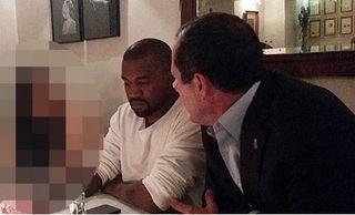 Kanye West & le maire de Jérusalem