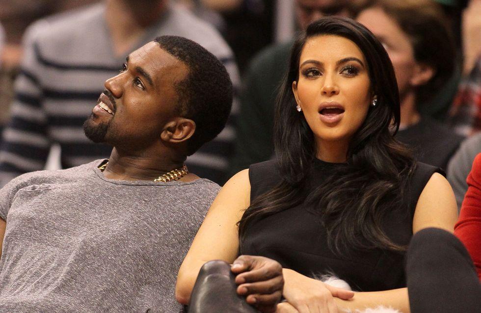 Kim Kardashian coupée d'une photo par un journal israélien
