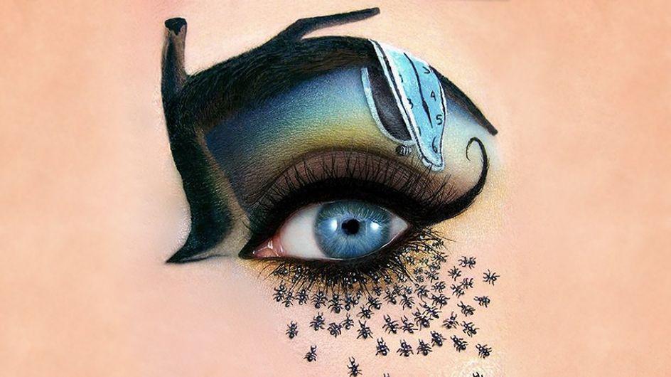 Cuando los párpados se convierten en lienzos: los maquillajes de ojos más creativos