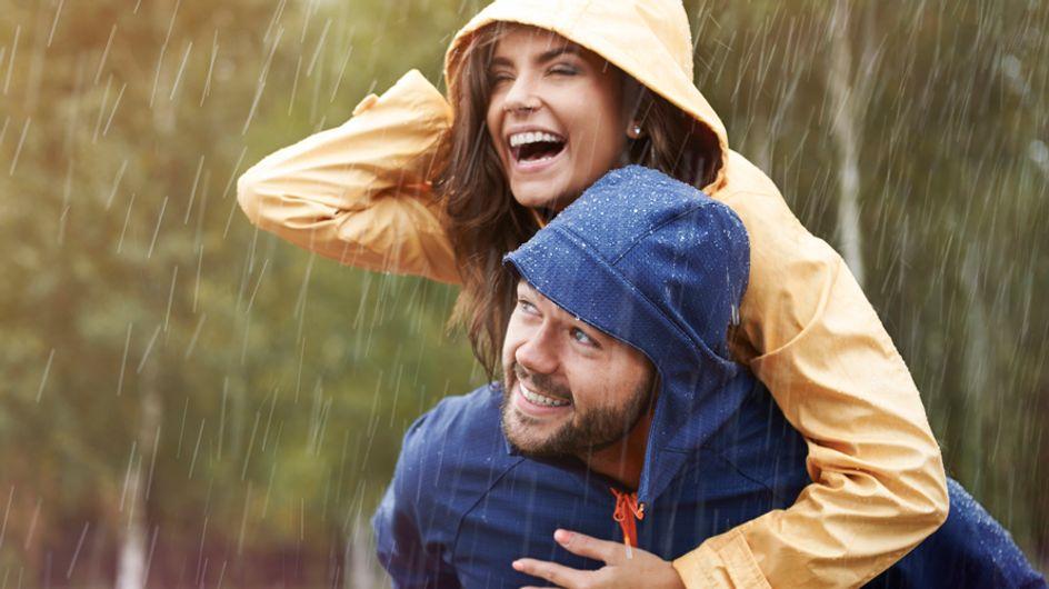 Egal ob Regen oder Sonnenschein: kleine Glücksmomente im Alltag