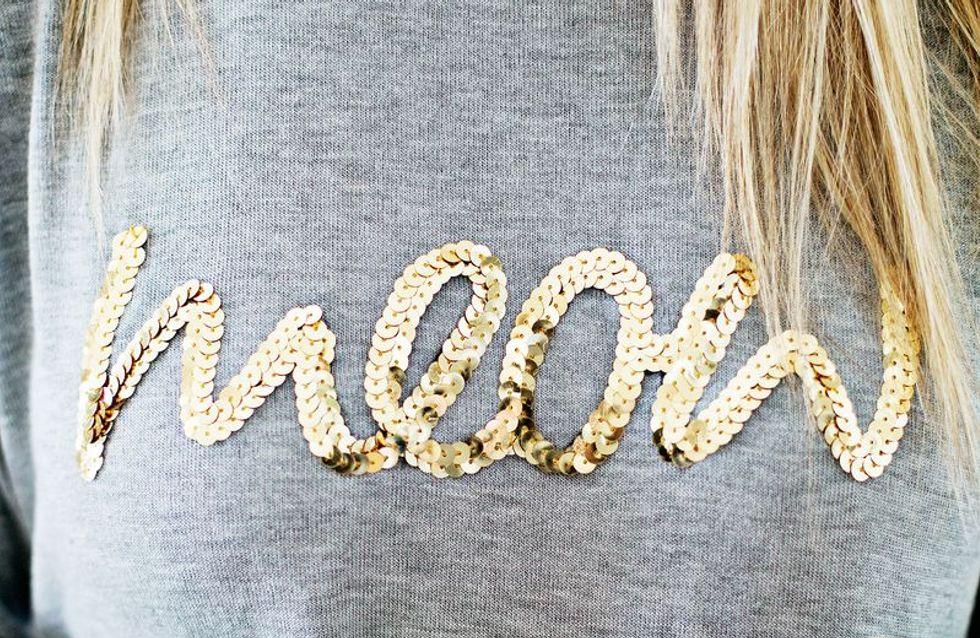 8 idées chics pour customiser votre sweat-shirt