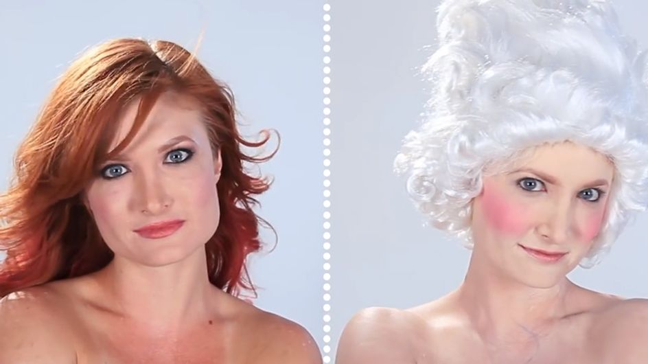 Video/ Dall'antica Grecia all'età Elisabettiana: guarda come cambia il make-up nelle epoche storiche