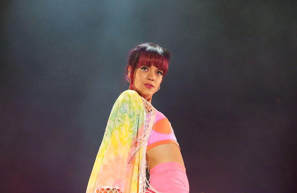 Lily Allen, inspirée par une pastèque pour sa nouvelle couleur de cheveux (Photo)