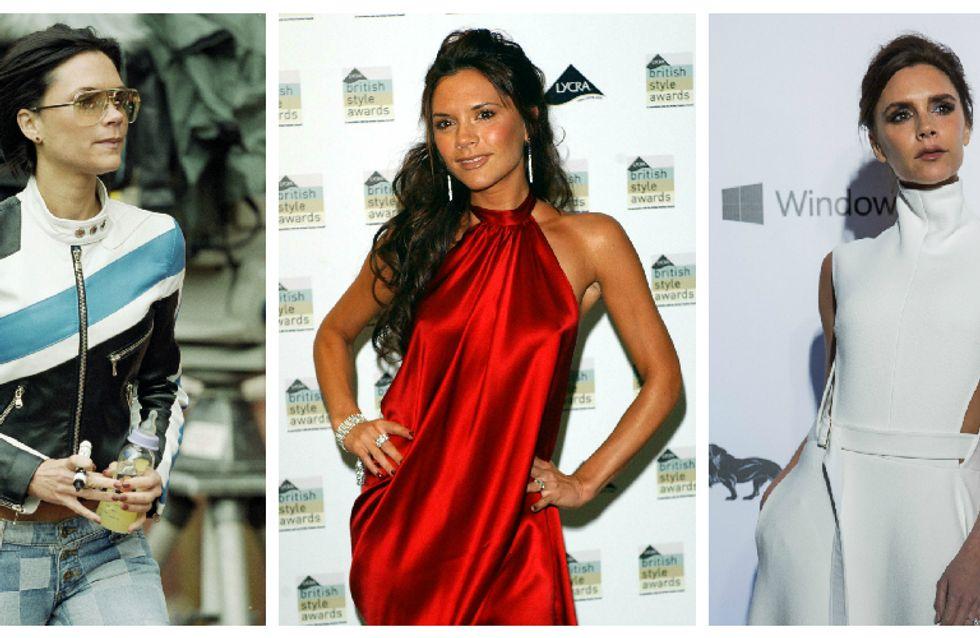 Retour sur l'évolution mode de Victoria Beckham (Photos)