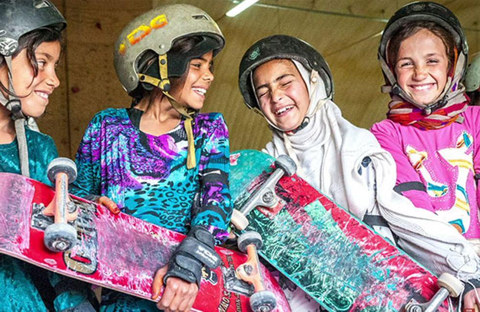Privées de vélo, ces petites Afghanes prennent leur revanche (Photos)
