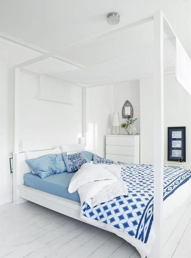 Dormez dans une déco claire et/ou bleue !