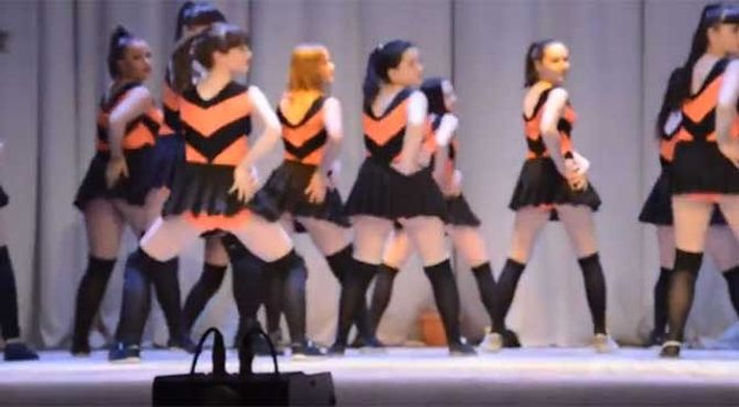 Le twerk d'une école de danse russe provoque la colère des autorités
