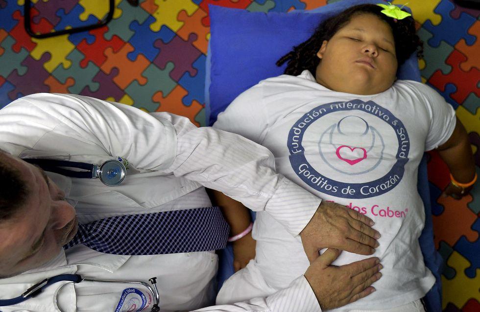Un père veut vendre son rein pour sauver ses enfants obèses (Photos)