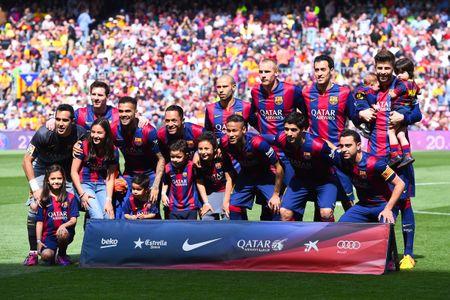 Photo officielle du FC Barcelone
