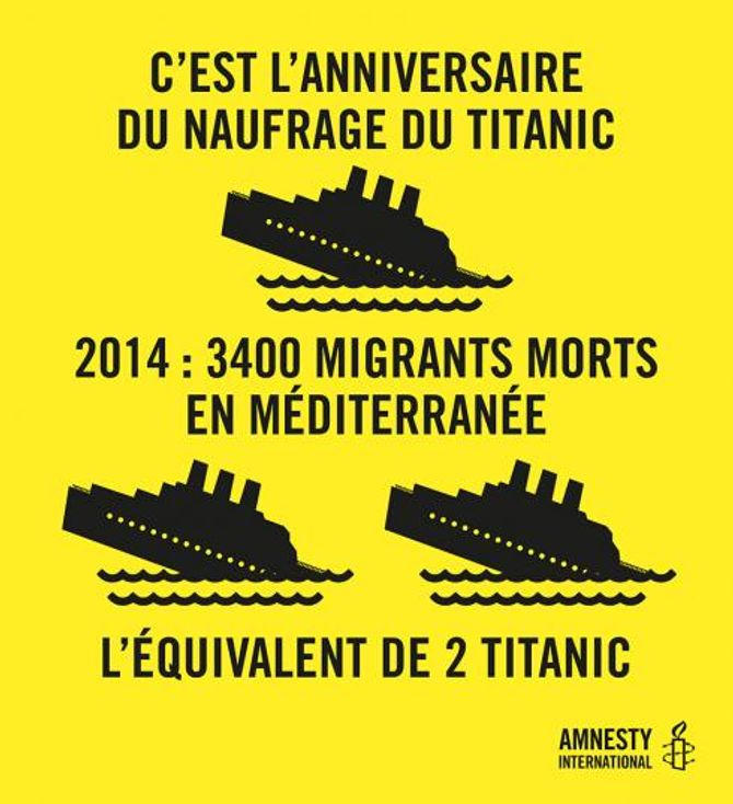 La campagne d'Amnesty International