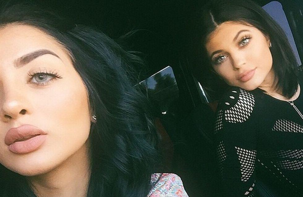 """Le """"Kylie Jenner Challenge"""", un jeu pour reproduire les lèvres gonflées de la star"""