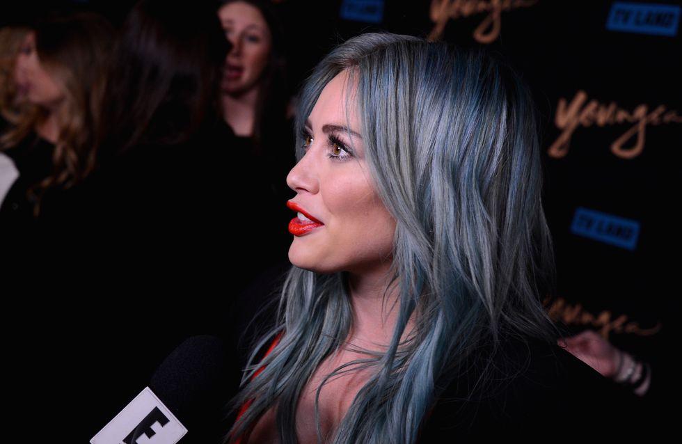 Hilary Duff n'a plus les cheveux bleus (Photo)