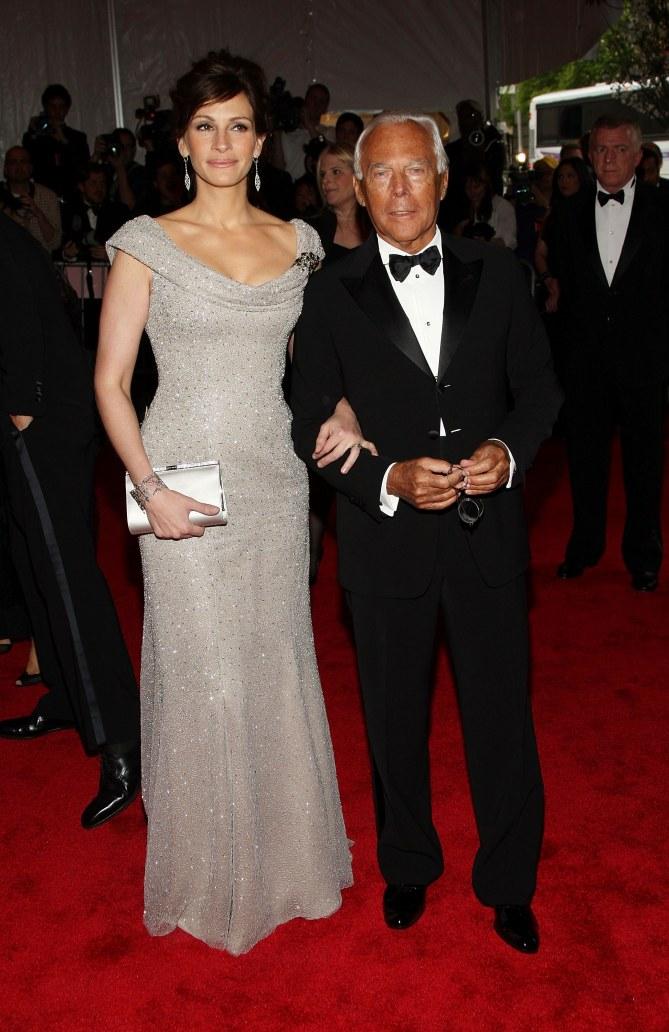Julia Roberts & Giorgio Armani