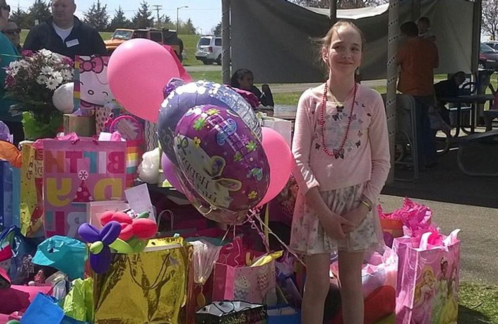 700 personas acuden al cumpleaños de una niña enferma discriminada por sus compañeros de clase