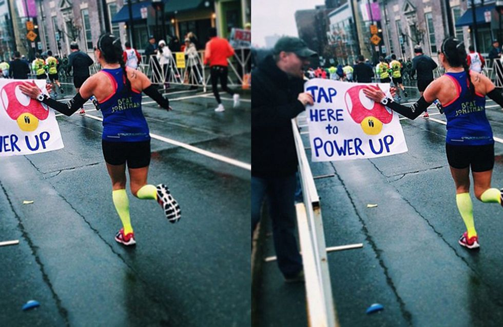 10 Ingenious Signs To Take To A Marathon