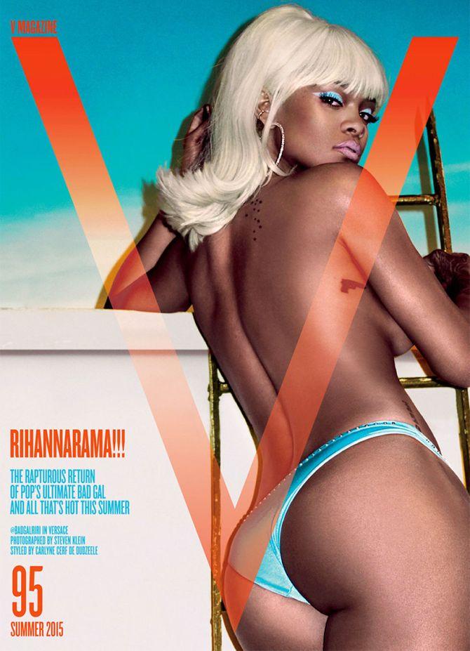 Rihanna en couverture de V magazine