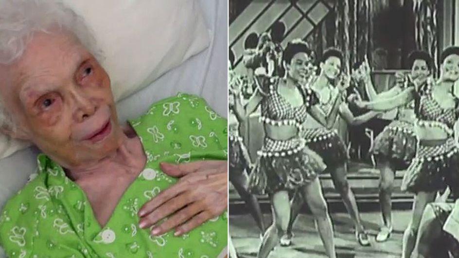 Sie sieht sich zum ersten Mal tanzen: Die Reaktion dieser 102-Jährigen ist unglaublich rührend