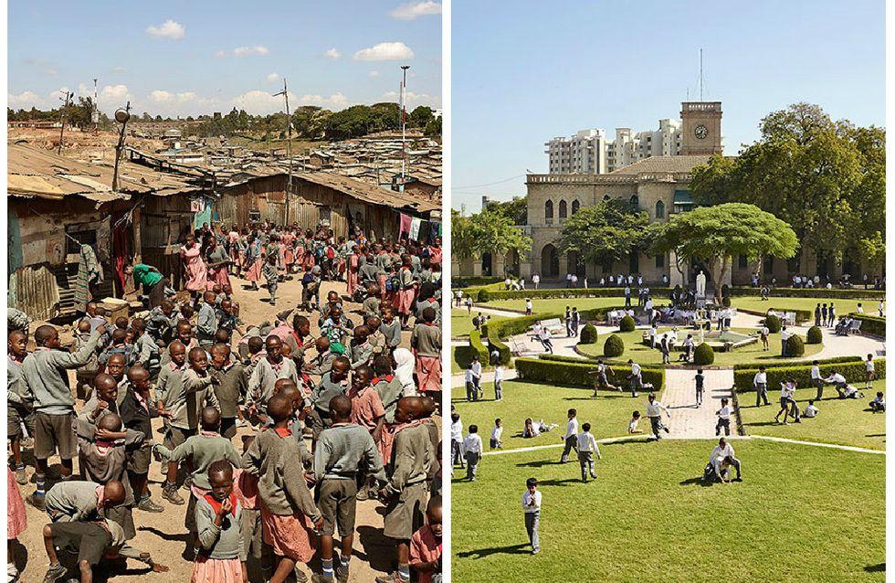 Ein Fotograf hält Schulhöfe auf der ganzen Welt fest, um Ungleichheiten deutlich zu machen