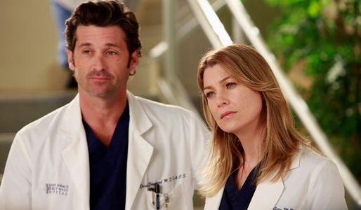 I due protagonisti della serie tv Grey's Anatomy