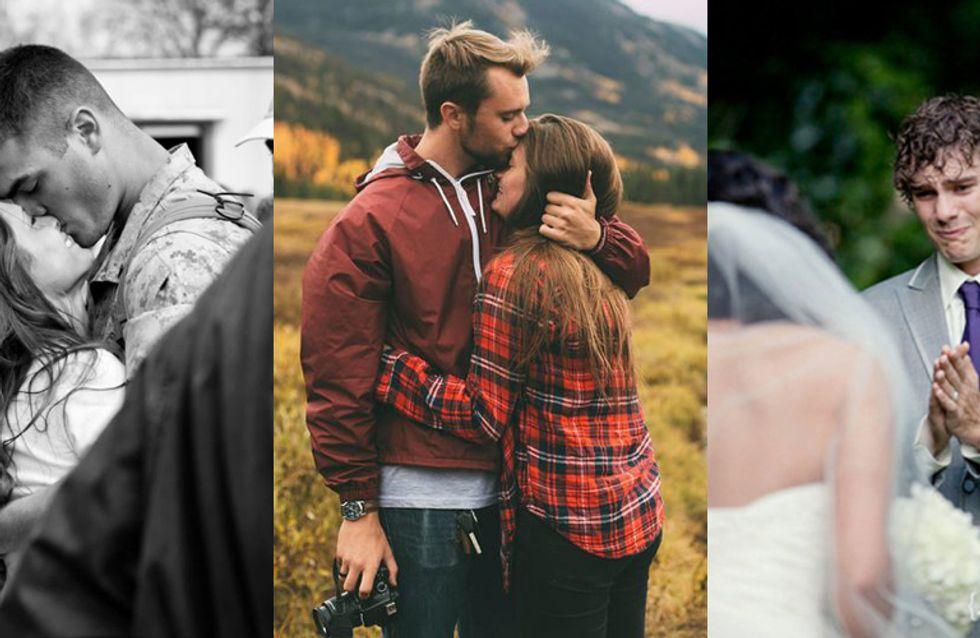 15 photos qui prouvent que le véritable amour n'existe pas qu'au cinéma