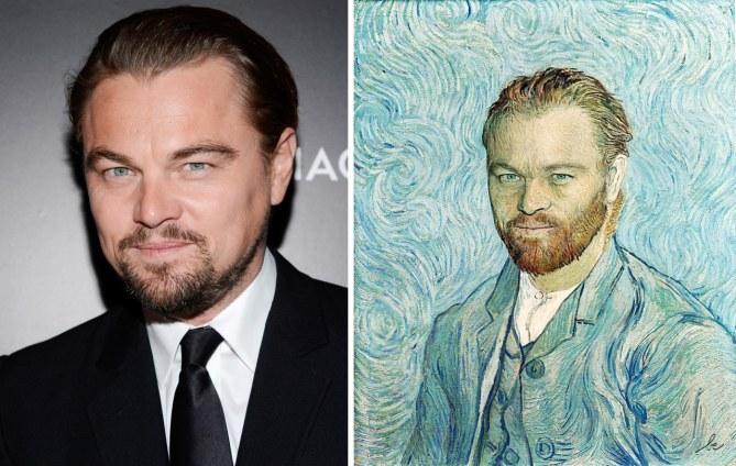 Leonardo DiCaprio - Autoritratto di Vincent Van Gogh
