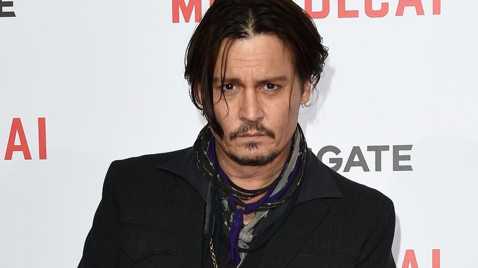 Découvrez la transformation physique de Johnny Depp (Photo)