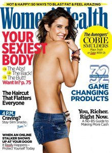 Cobie Smulders pour Women's Health