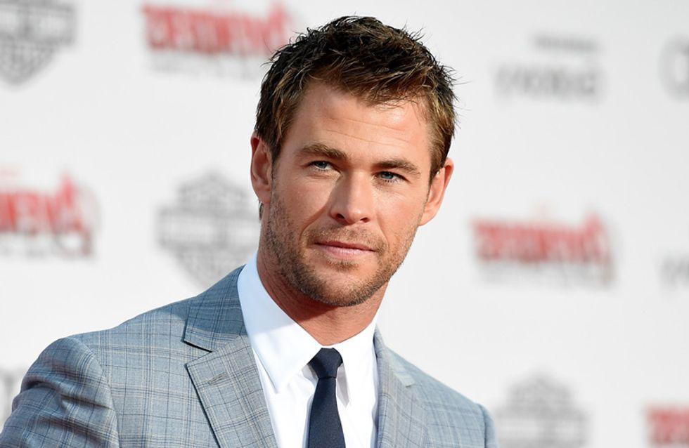 El hombre de la semana es... ¡Chris Hemsworth!