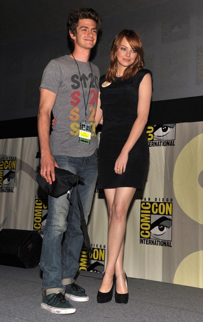 Emma Stone et Andrew Garfield (2011)