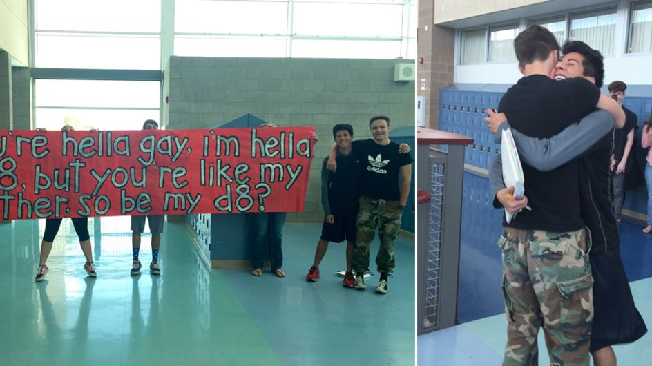 Straight High-schooler Asks His Gay Best Friend To Prom
