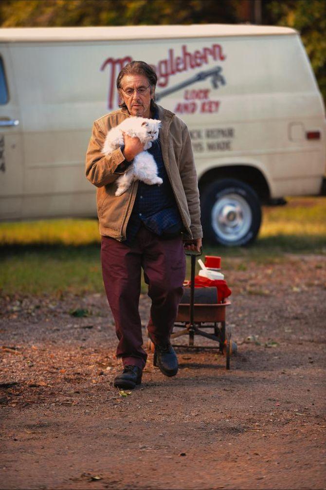Manglehorn et son chat Fanny