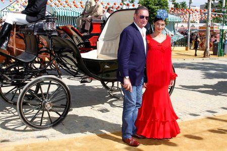 Carlos Herrera y su hija