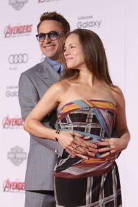 Robert Downey Jr et sa compagne Susanne