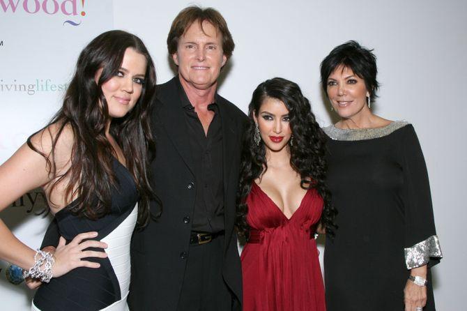 Bruce Jenner, Khloé Kardashian, Kim Kardashiant et Kris Jenner