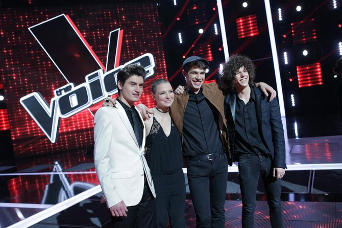 Les finalistes de The Voice 4.
