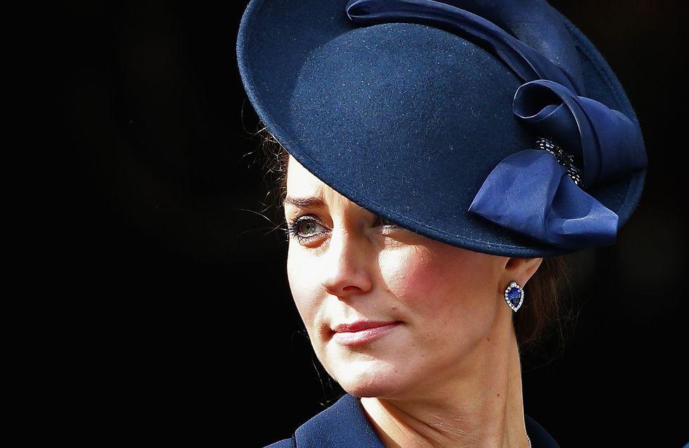 Kate Middleton bien entourée en attendant bébé