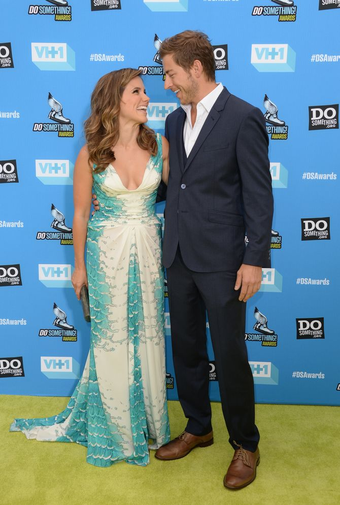 Sophia Bush et Dan Fredinburg en juillet 2013