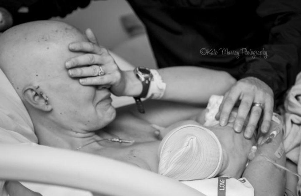 Après de terribles souffrances, cette maman vit un moment absolument magique...