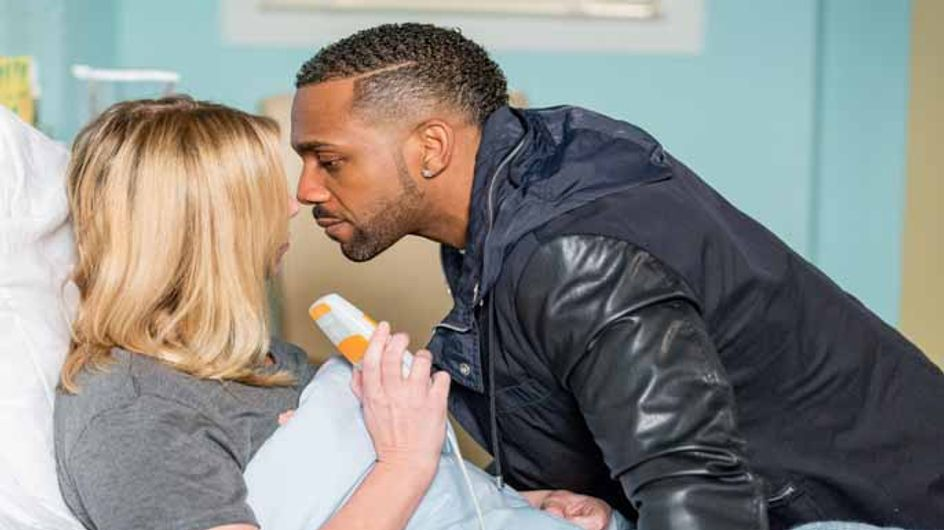 Eastenders 4/05 - Ronnie's heart races after a heated visit from Vincent