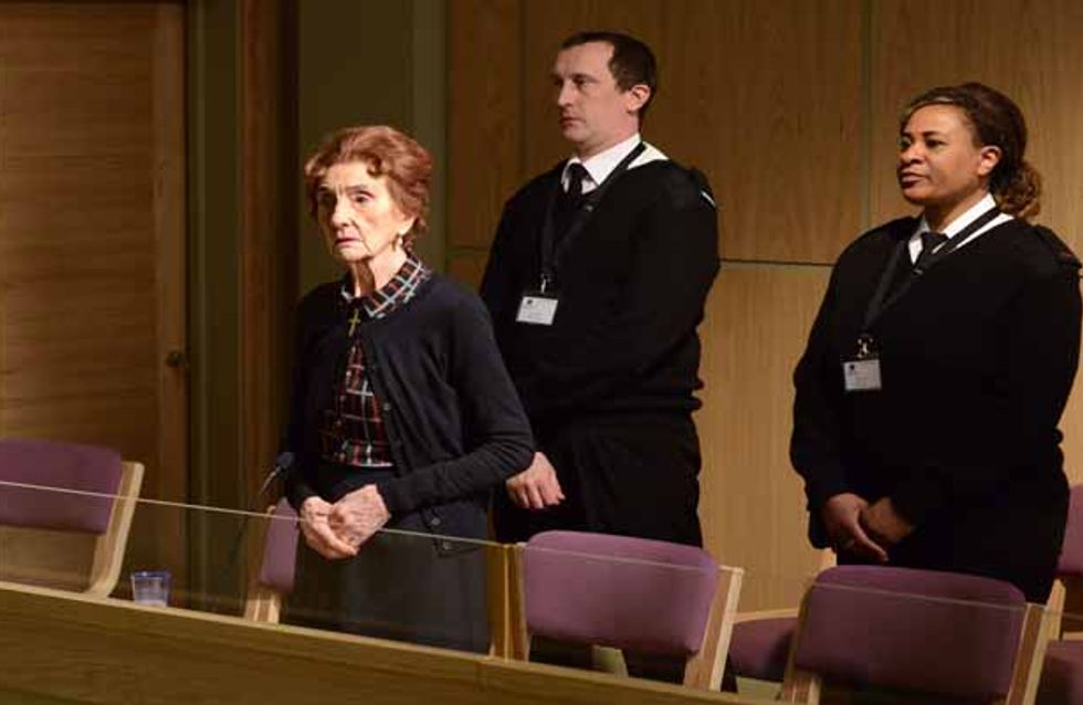 Eastenders 8/05 - Dot's trial is underway