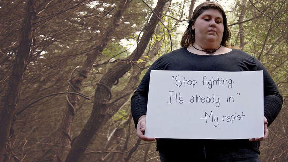 Victime de viol, elle témoigne en photos pour aider les autres à briser le silence