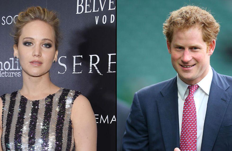 Jennifer Lawrence a-t-elle refusé un dîner avec le prince Harry ?