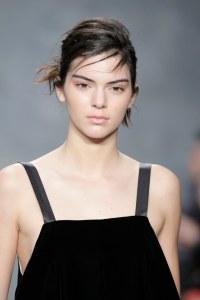 Kendall Jenner à la Fashion Week